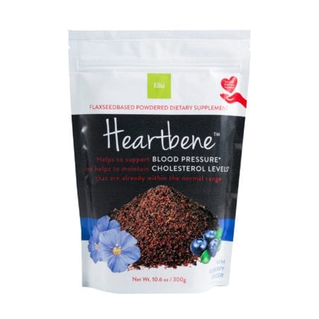 Supplement for heart health flaxseed crush