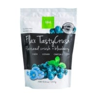 Flaxseed crush + blueberry flavor - healthy snacks & breakfast
